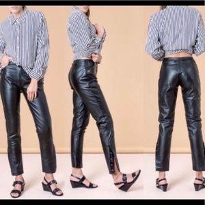 Harley Davidson No Waist Leather Pants